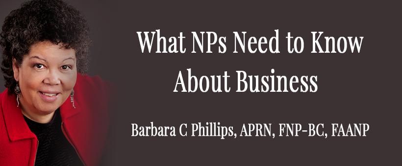 Barbara C. Phillips Nurse Practitioner Business Consultant