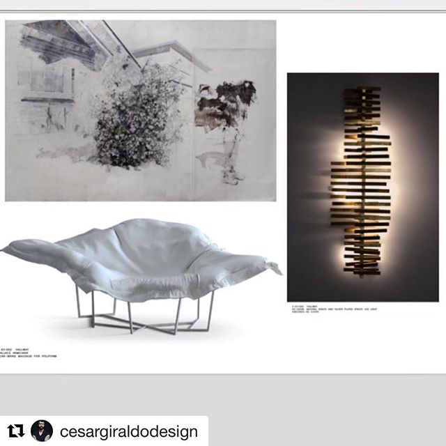 My work selected by the amazingly talented Cesar Giraldo. #cesargiraldodesign #design #art #designer #artist #lovefordesign #drawing #painting