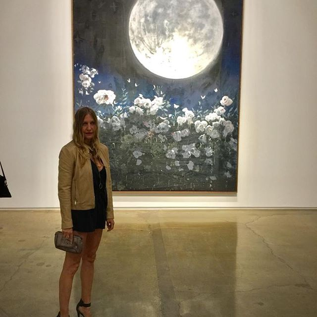Full Moon painting by Enrique Martinez Celaya at Kohn Gallery. #studioenriquemartinezcelaya #art #inspiring