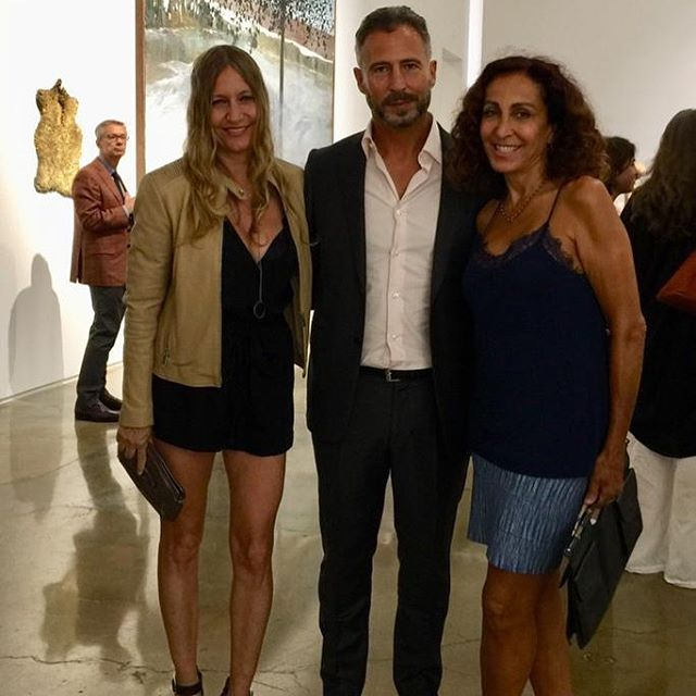 Enrique Martinez Celaya's show opening last night at Kohn Gallery. A Beautiful and inspiring show! ❤️ #studioenriquemartinezcelaya #art