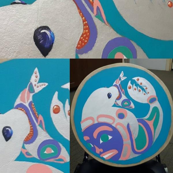 Raven John - Seal Drum- painted drum (1).jpg