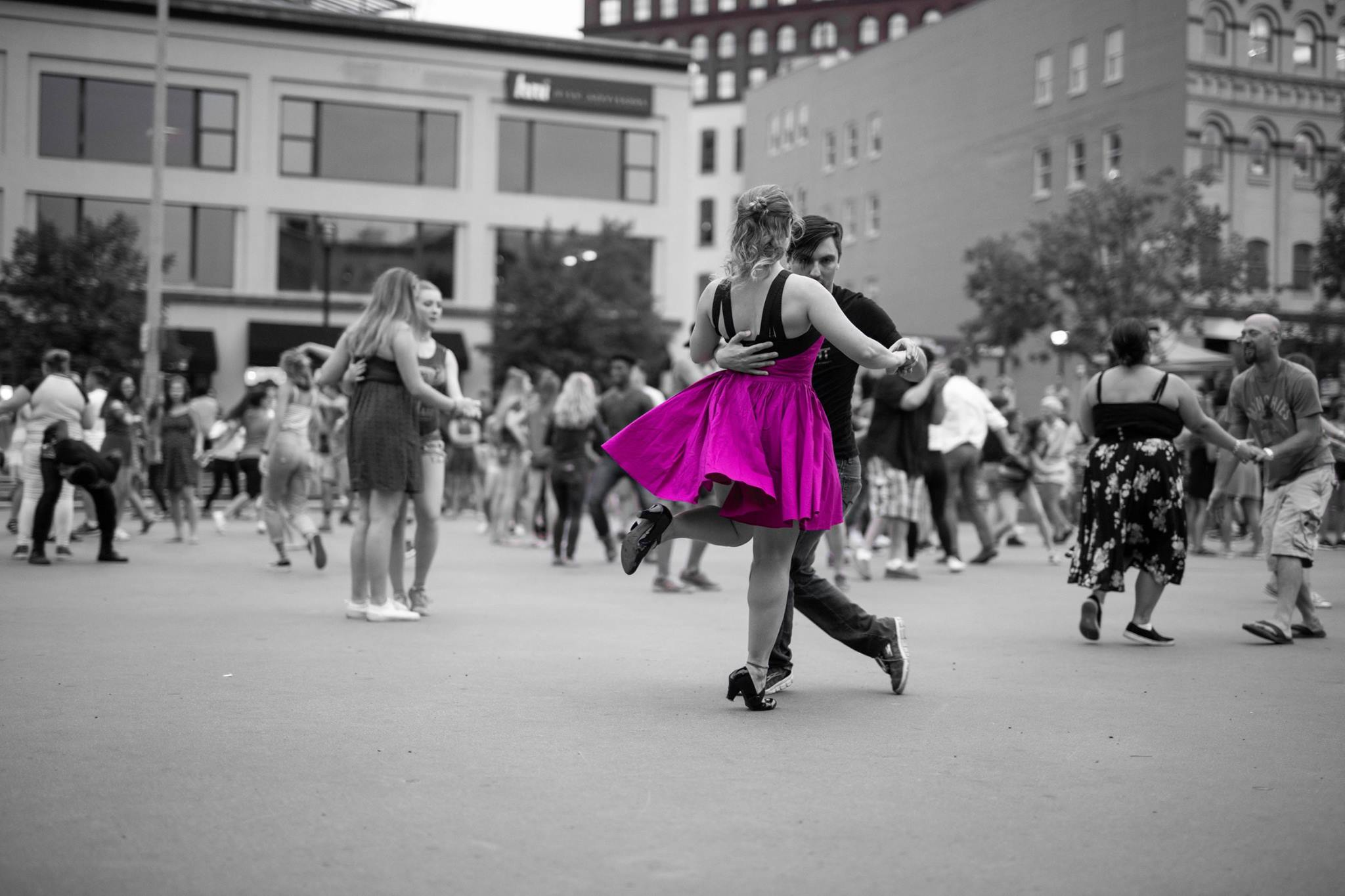 for the dancers -