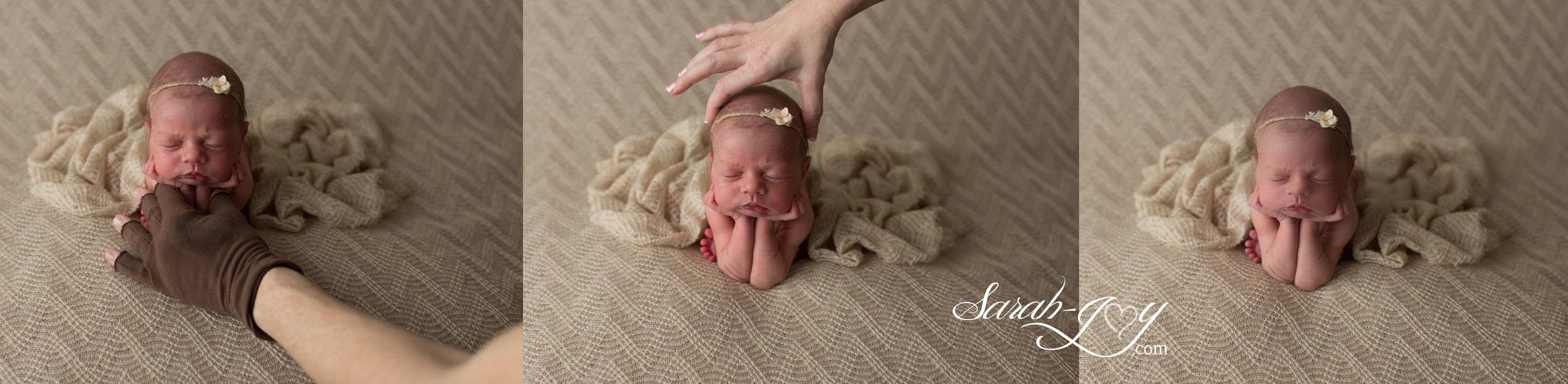 Composite Baby Photography (Froggy Pose)
