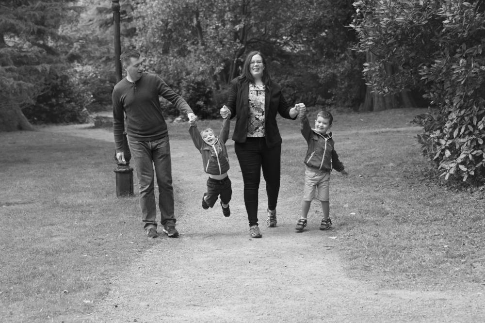 Family photoshoot in dublin