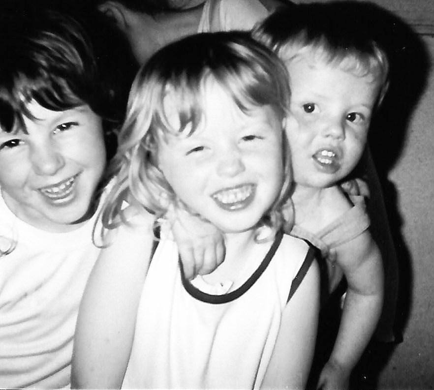 A sibling photo from the eighties Melbourne
