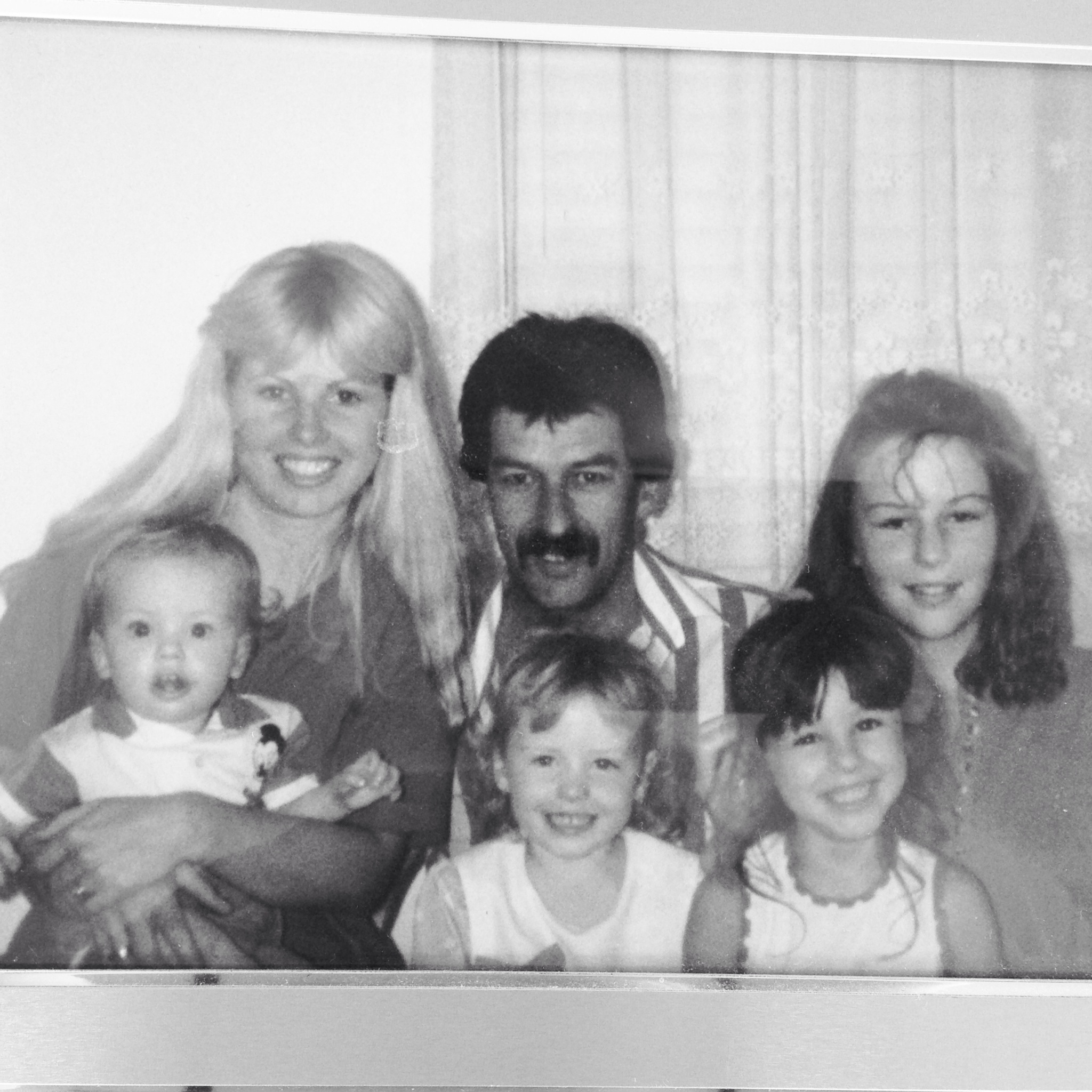 A family photo from the eighties Melbourne