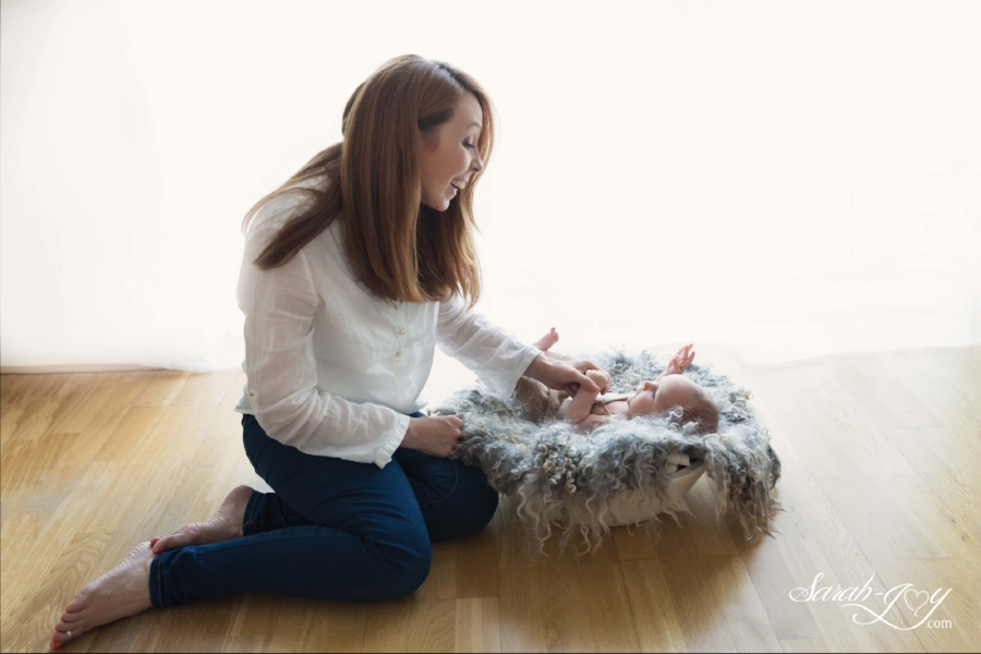 Mother and Son Melbourne Baby Photo Shoot
