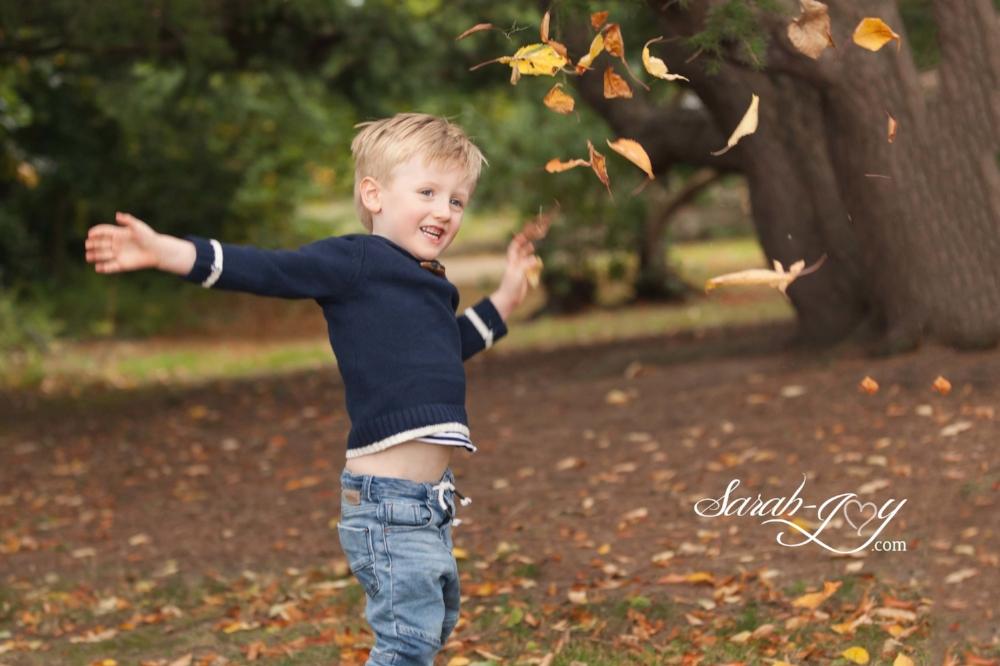 Autumn outdoors photo shoot in dublin