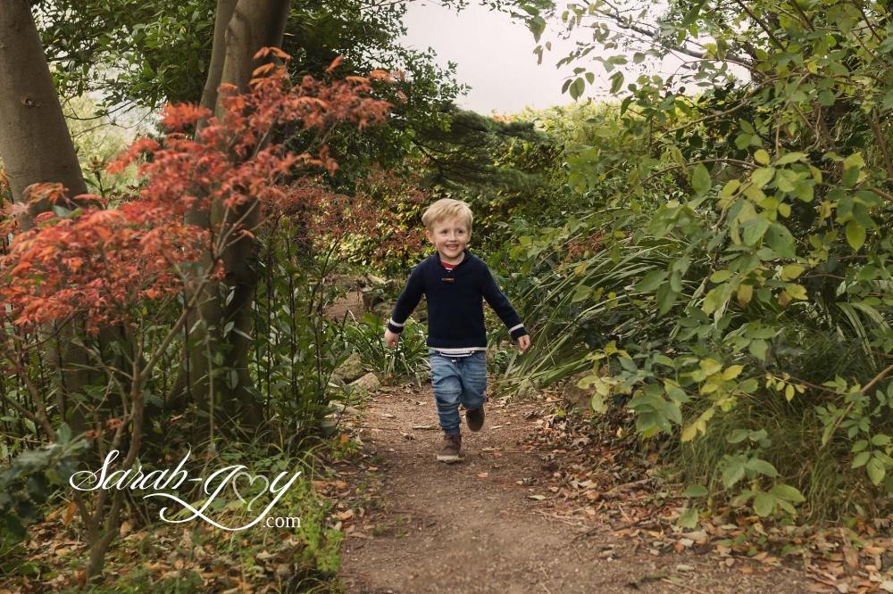 Dublin outdoor photo shoot in autumn