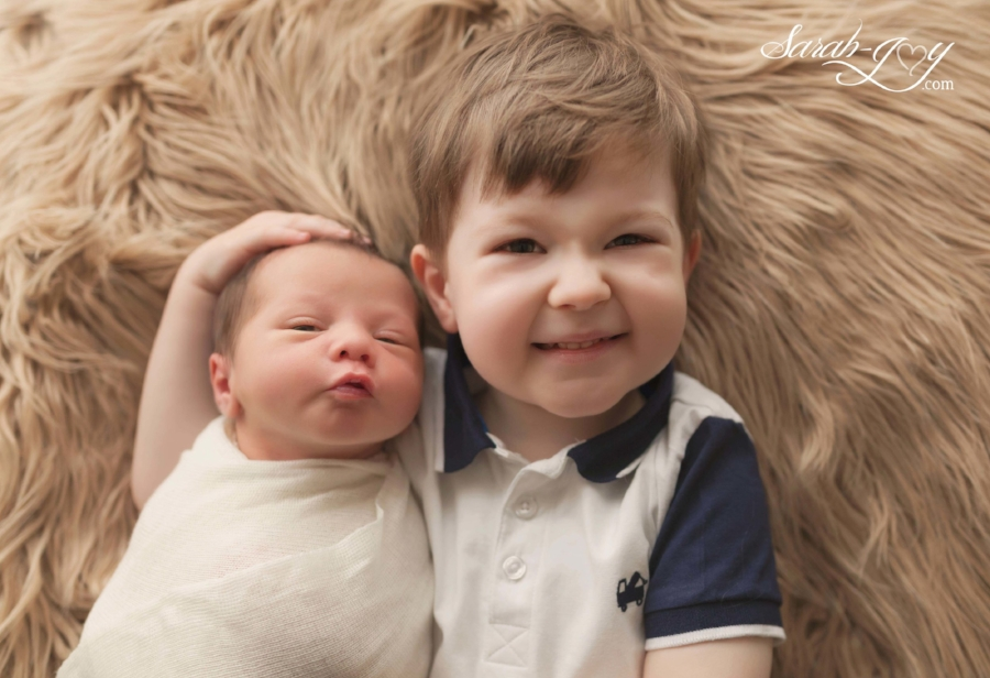 Baby brothers Melbourne photo shoot