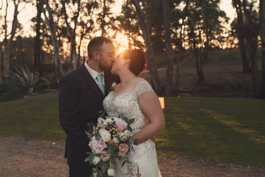 melbourne Sunset Wedding Photography