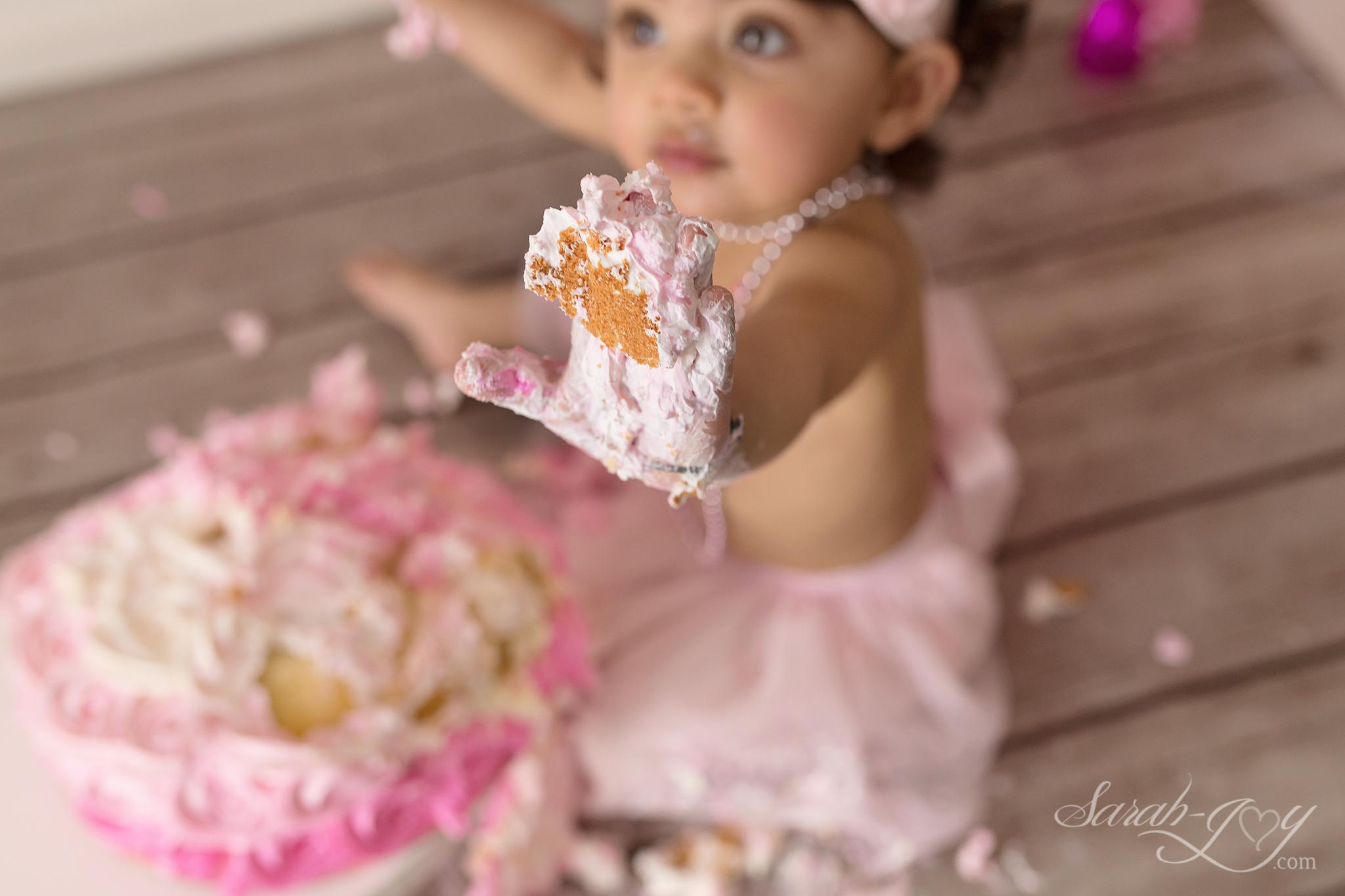 cake smash photoshoot fitzroy