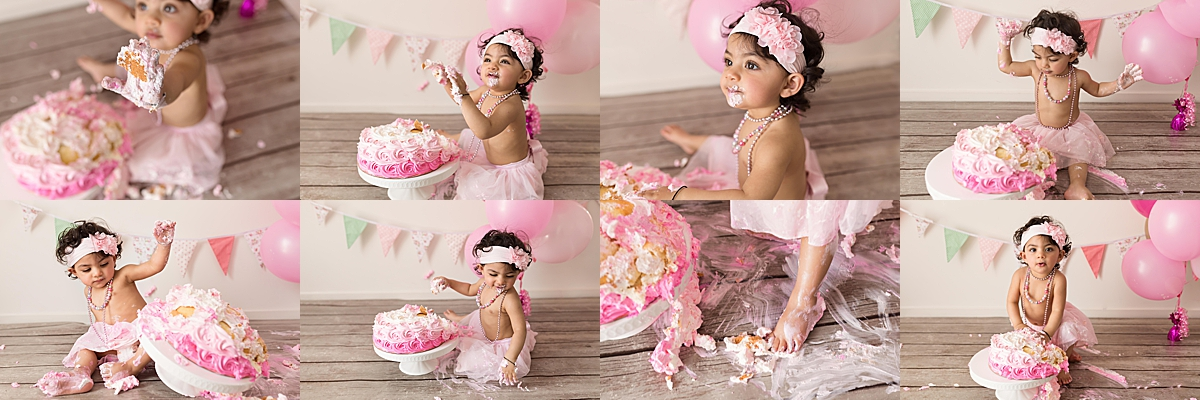 Cake Smash Photography in Fitzroy