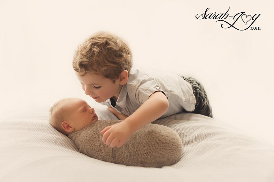 Fitzroy newborn sibling photography