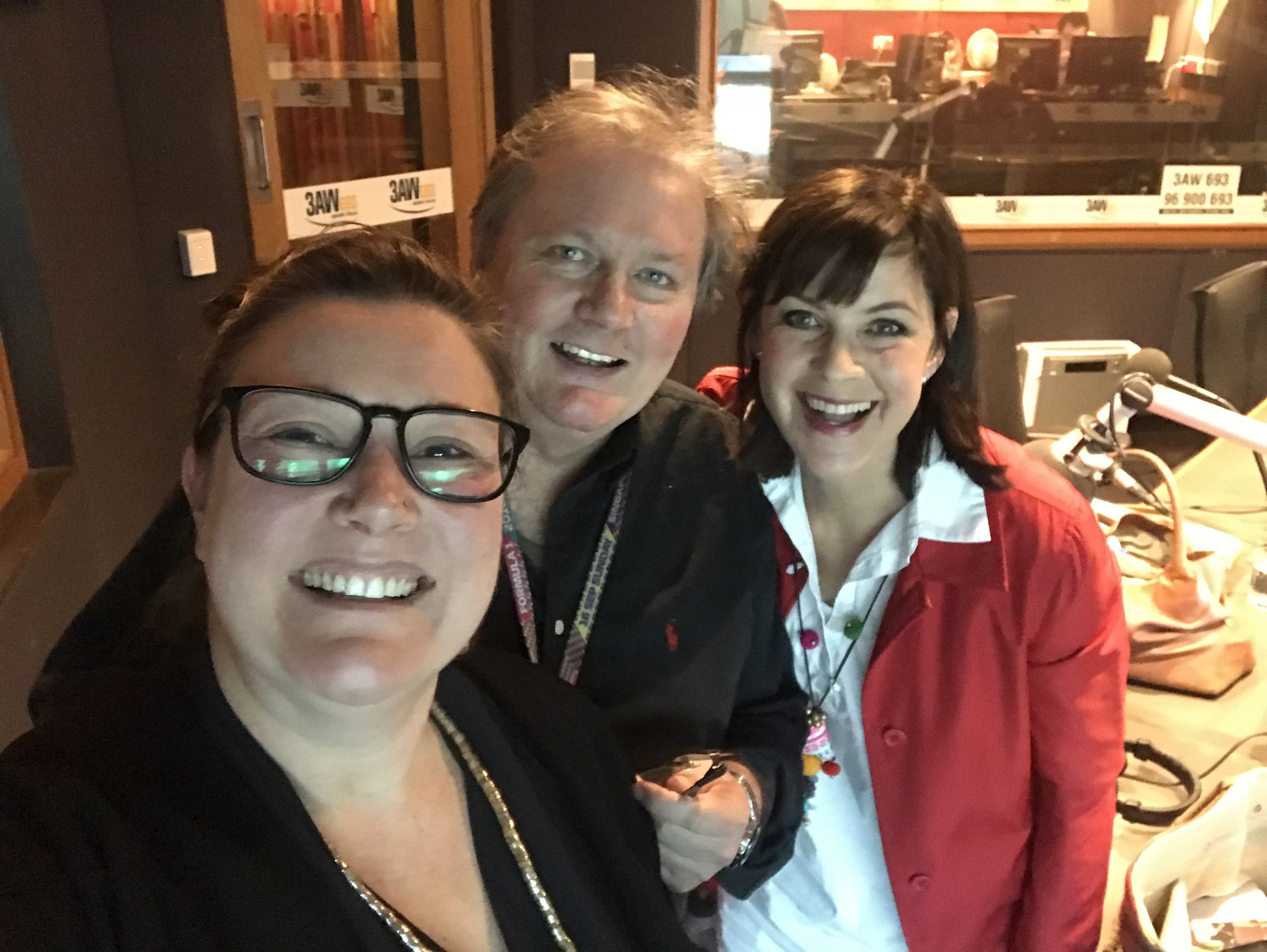 "Chatting on 3AW - Co-founder Cat Harding popped into the 3AW Studios to talk to ""Sustainable"" Sally Williams about the Victorian Government e-waste to landfill ban and what it will mean for Victorians."