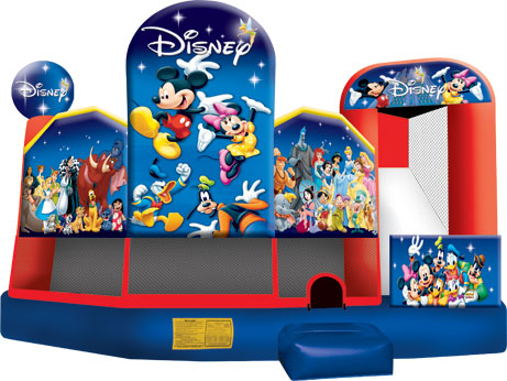 Disney 5-in-1 moon bounce