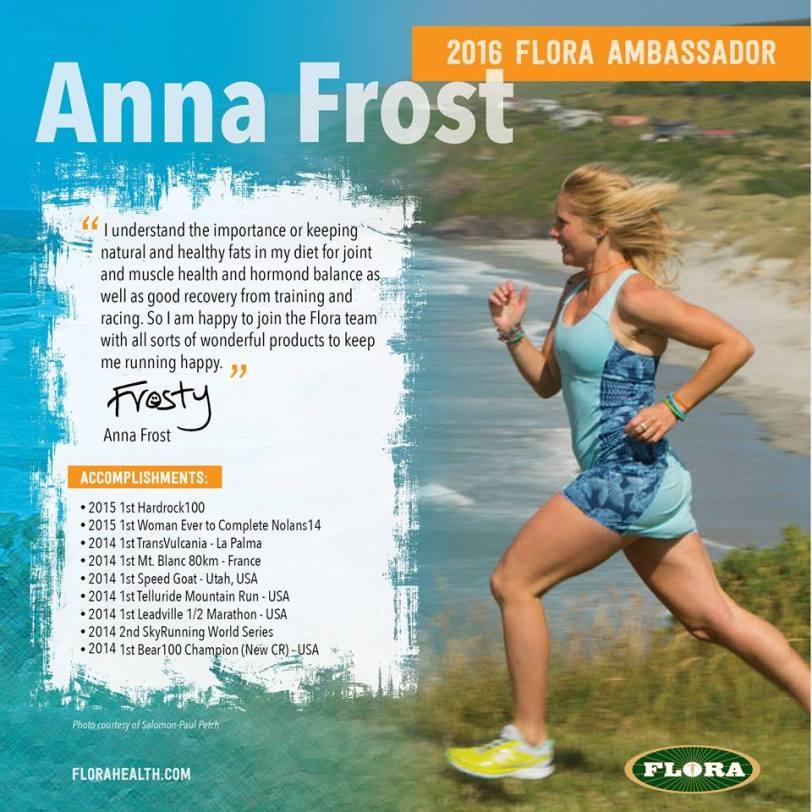 Anna Frost Flora ambassador