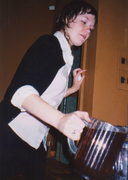 An actual closing shift in my younger days. Photo courtesy of the best server I've ever met, Alyce Kalmar