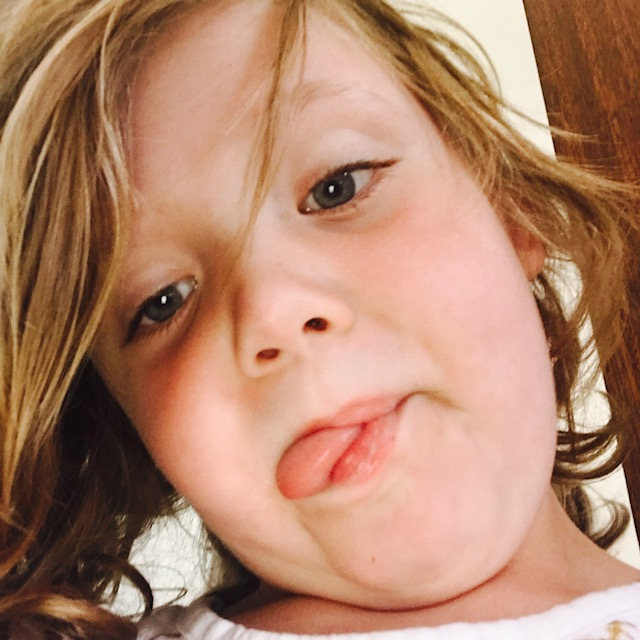 Only six and she already takes hundreds of selfies a day.