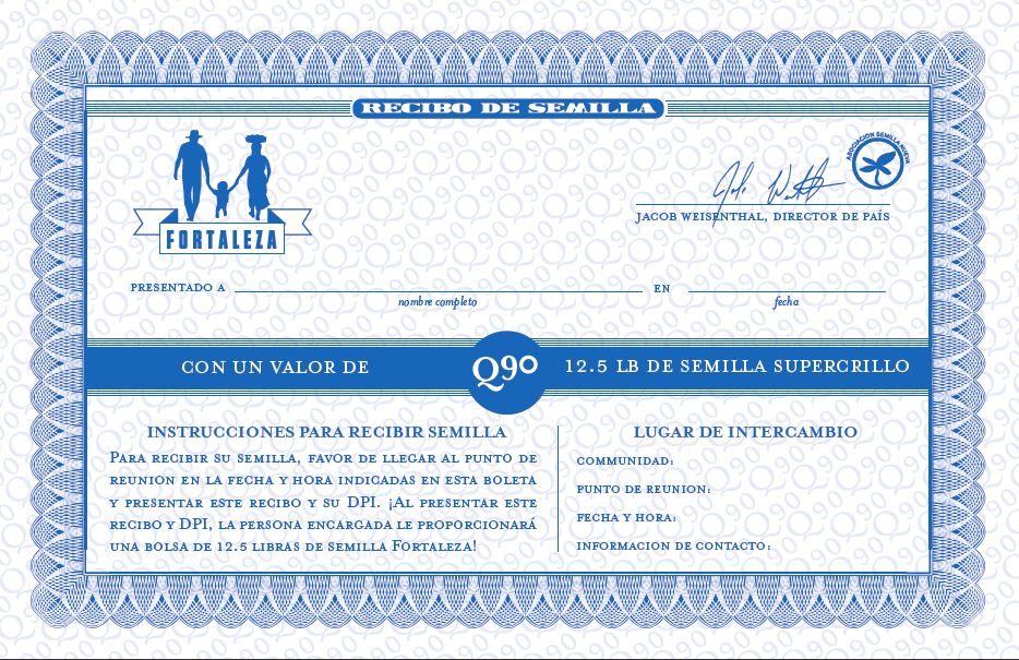 Seed Certificate
