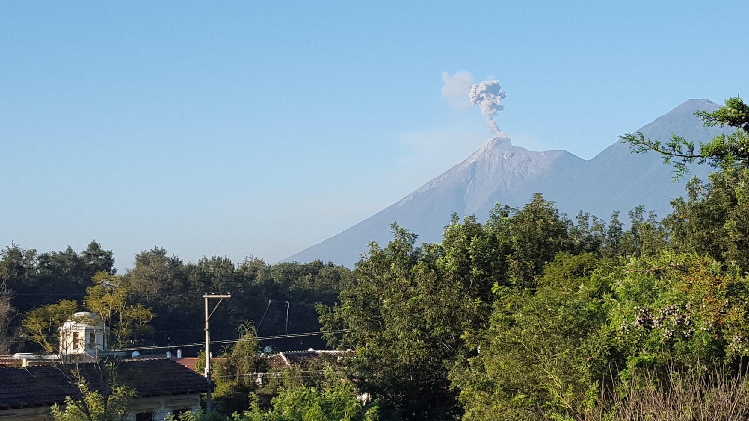 Volcano Fart