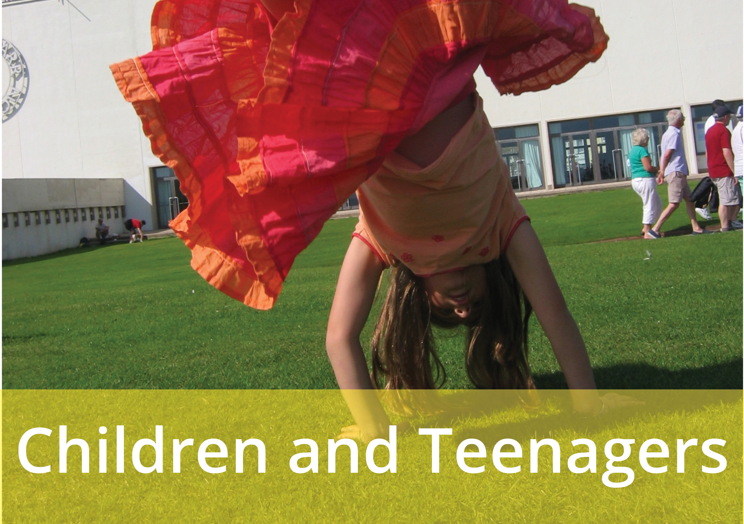 Image gateway to Children and Teenagers page