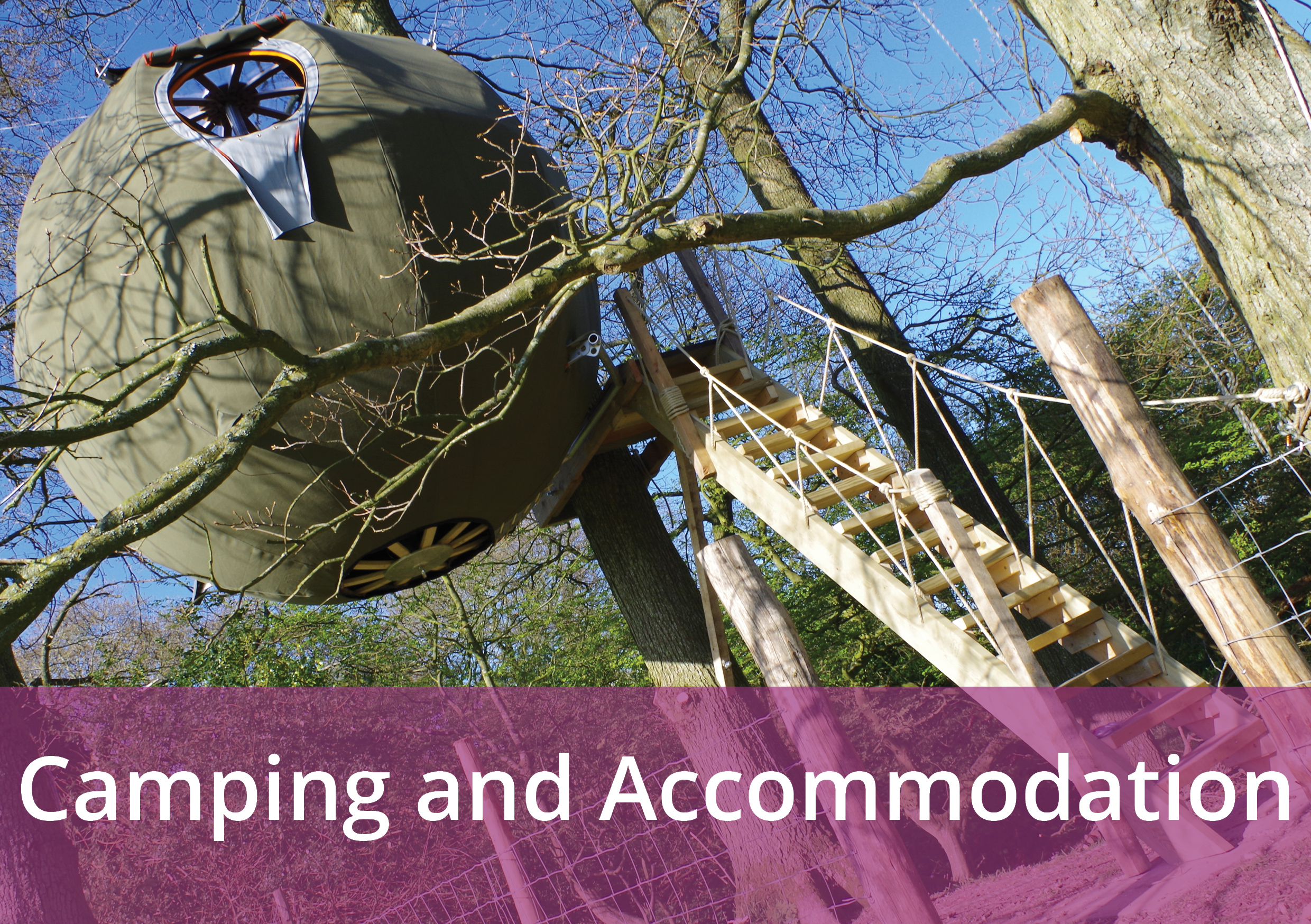 Image gateway to Camping and Accommodation page