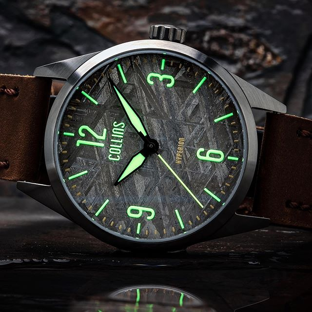 Lume on meteorite, for that extra otherworldly feel. Only a week left on Kickstarter! 📷: @tyalexanderphotography