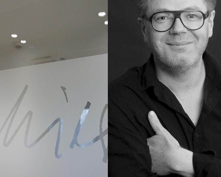 Experte für Gestaltung individuellen Glas-Sichtschutzes in Unternehmen und Arbeitsumgebungen:  Dipl. Designer Jörg Schmitz  Mehr Infos zum Designer   hier .