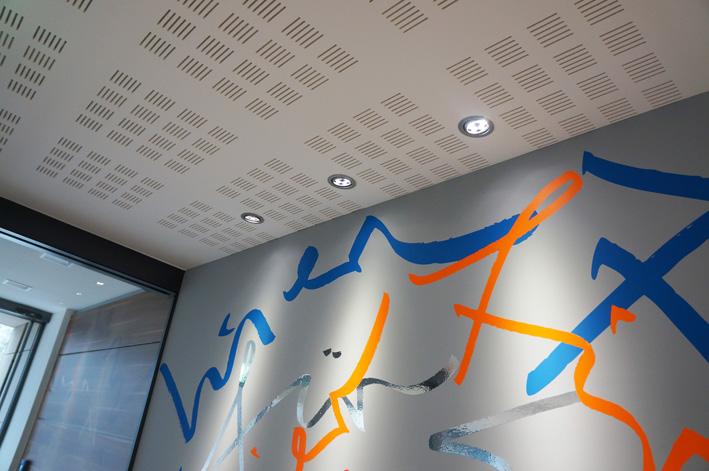 Schriftkunst in Corporate-Design-Farben. (c) Jörg Schmitz