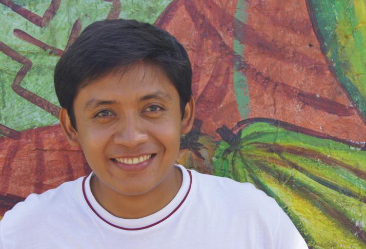 Julio,Coordinador del proyecto de reforestación  Jubilación Segura en  Oro Verde