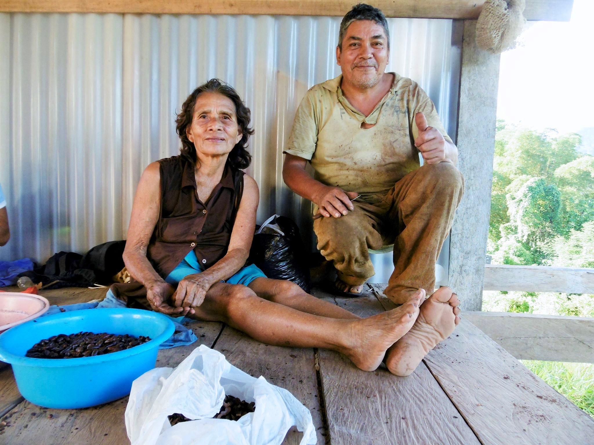 Marcial Teran Quispe y su esposa Agueda Pisco Fonseca – Pucallpillo
