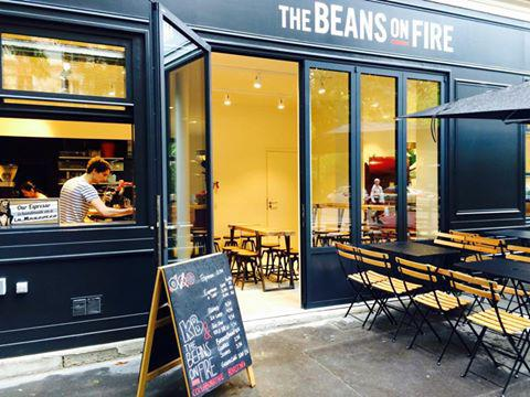 The Beans on Fire. Crédit photo: Justacoté