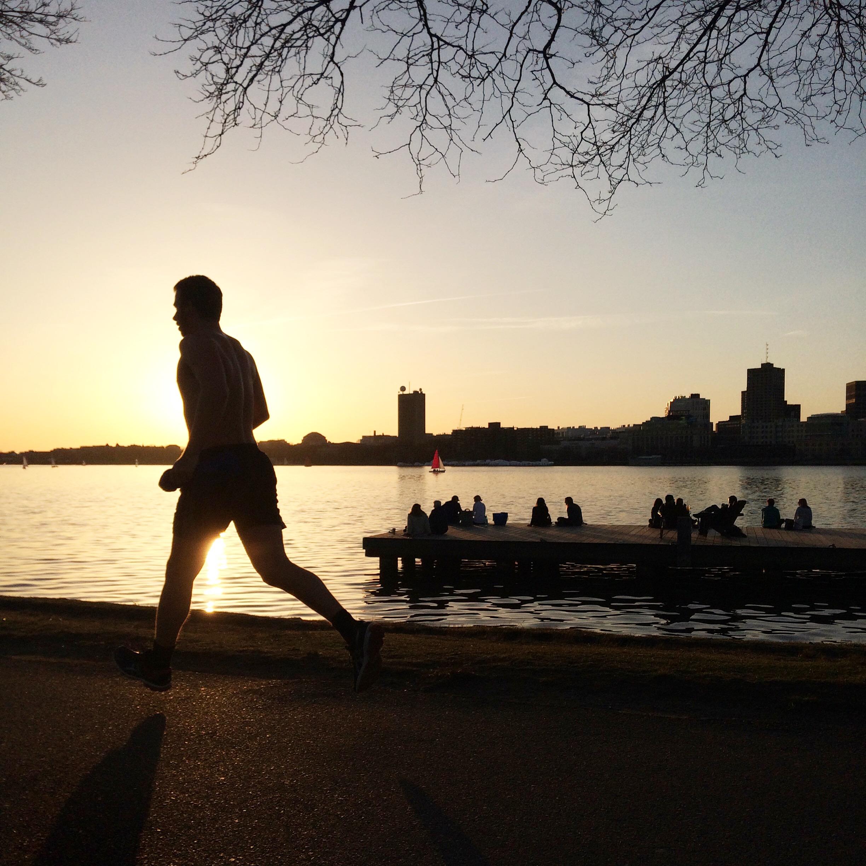 Running Man, Half Naked