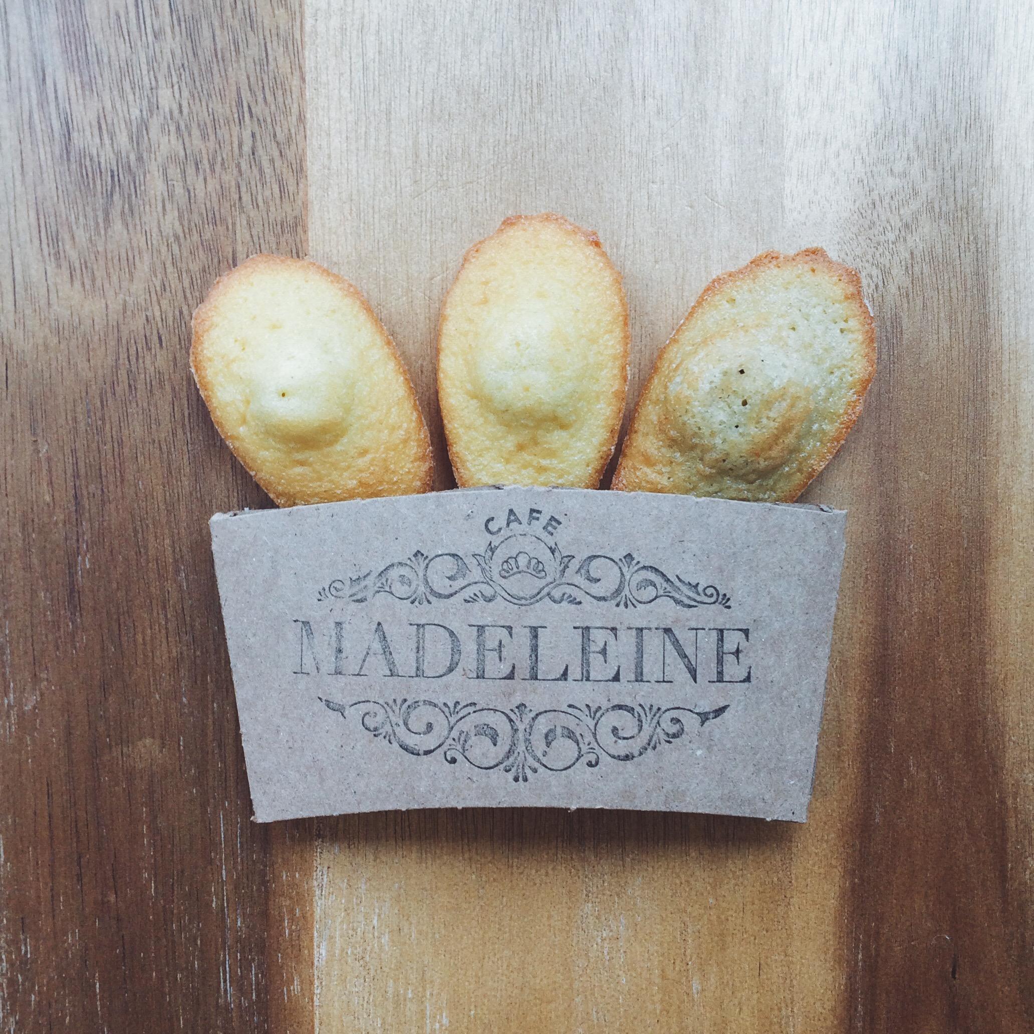 Cafe Madeleine's Madeleine