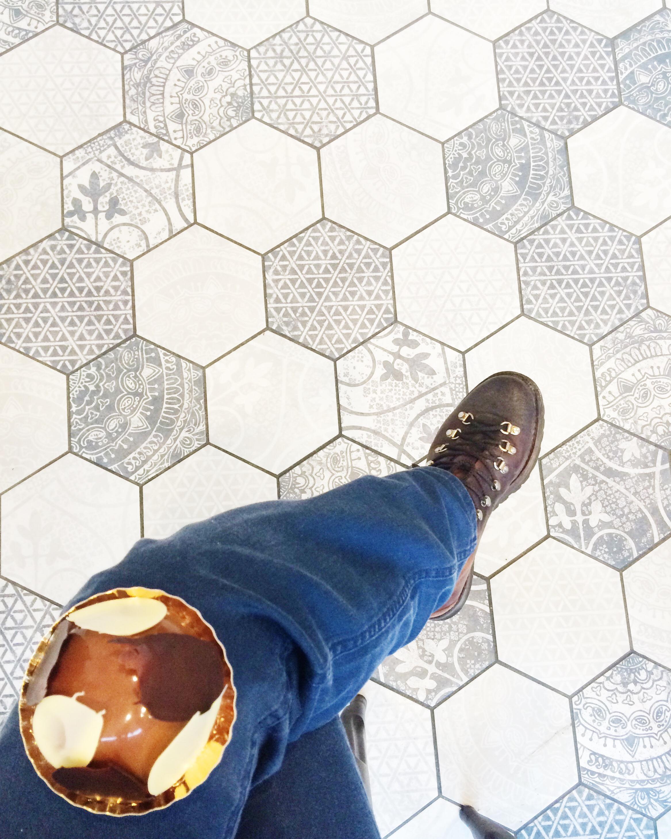 Hexagon Tiles: When You Can't Balance A Ball You Balance A Dome