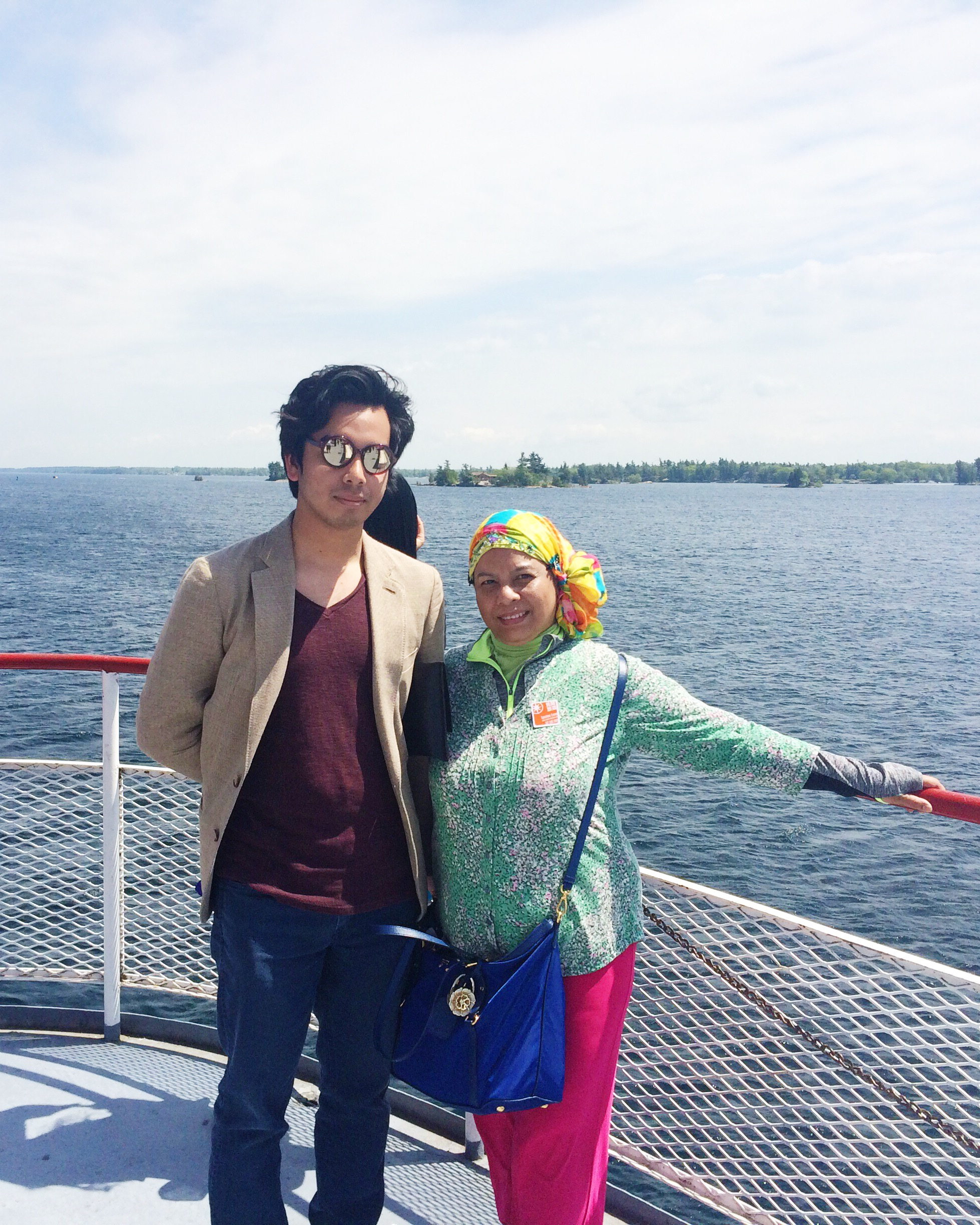 At The Front Of The Ship, My Mother and I