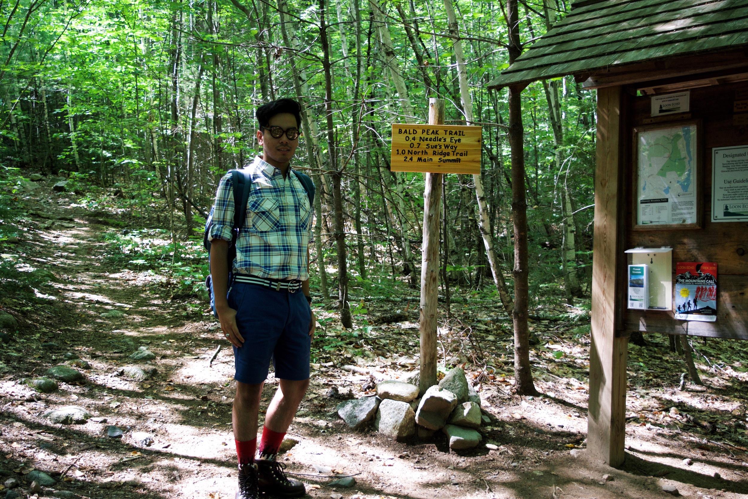 Bald Peak Trail (2.4 miles)