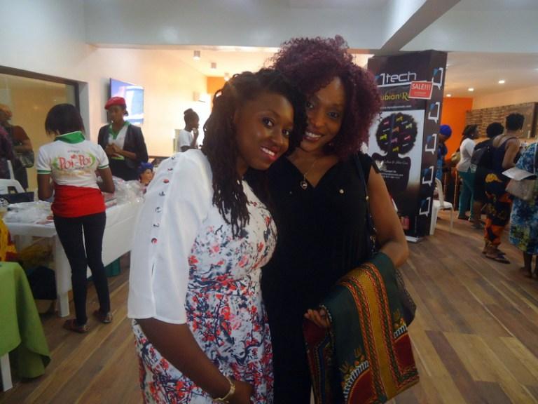 Ade Balogun of Locitude and Kemi Lewis of KLS Naturals