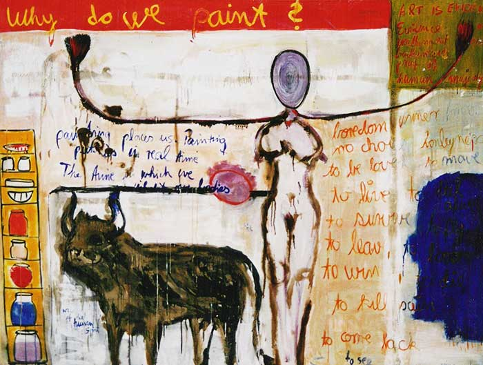 Why do we paint _1999_210x160cm