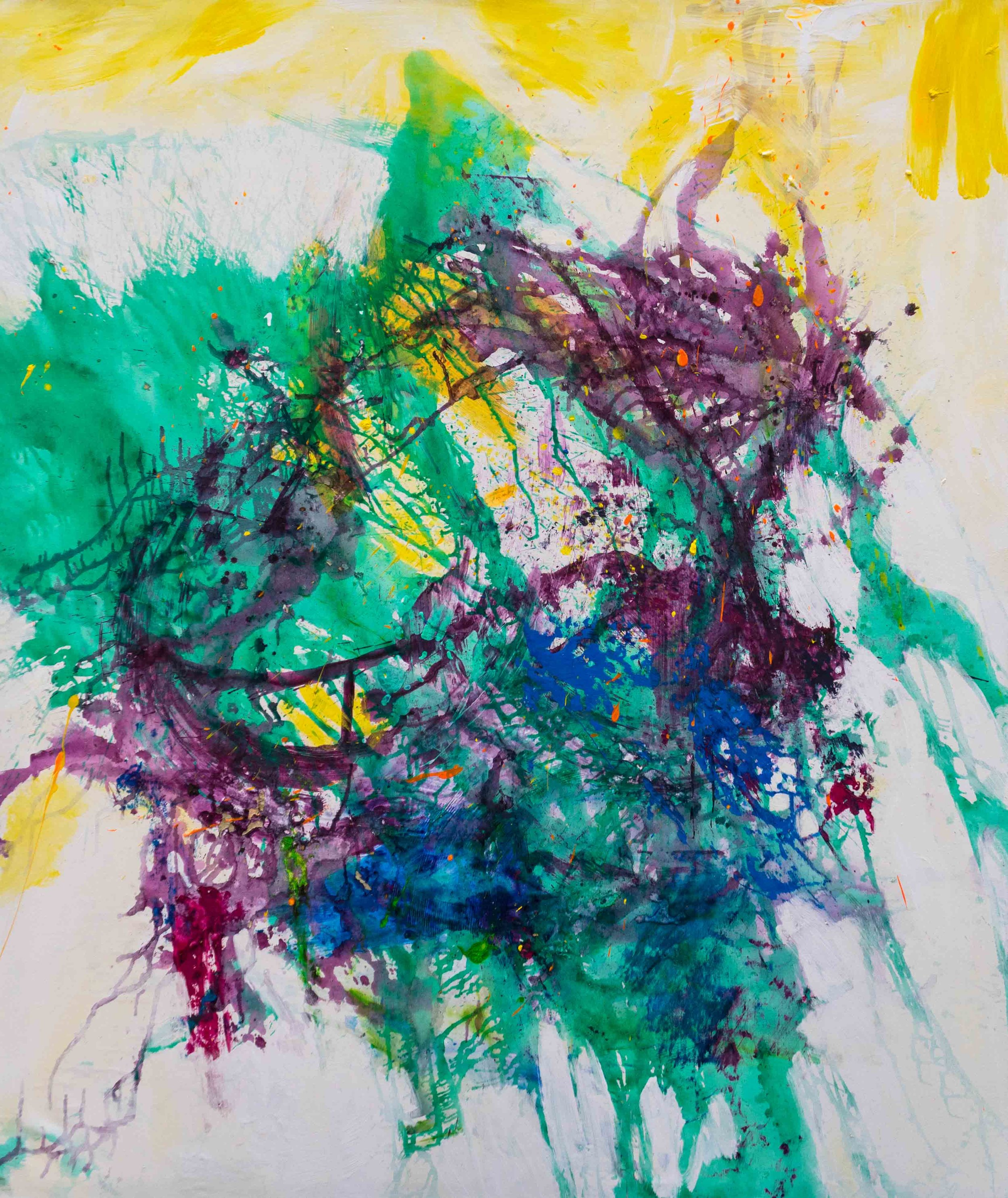 Artist DNA _2019_130x155cm_Akryl auf Leinwand