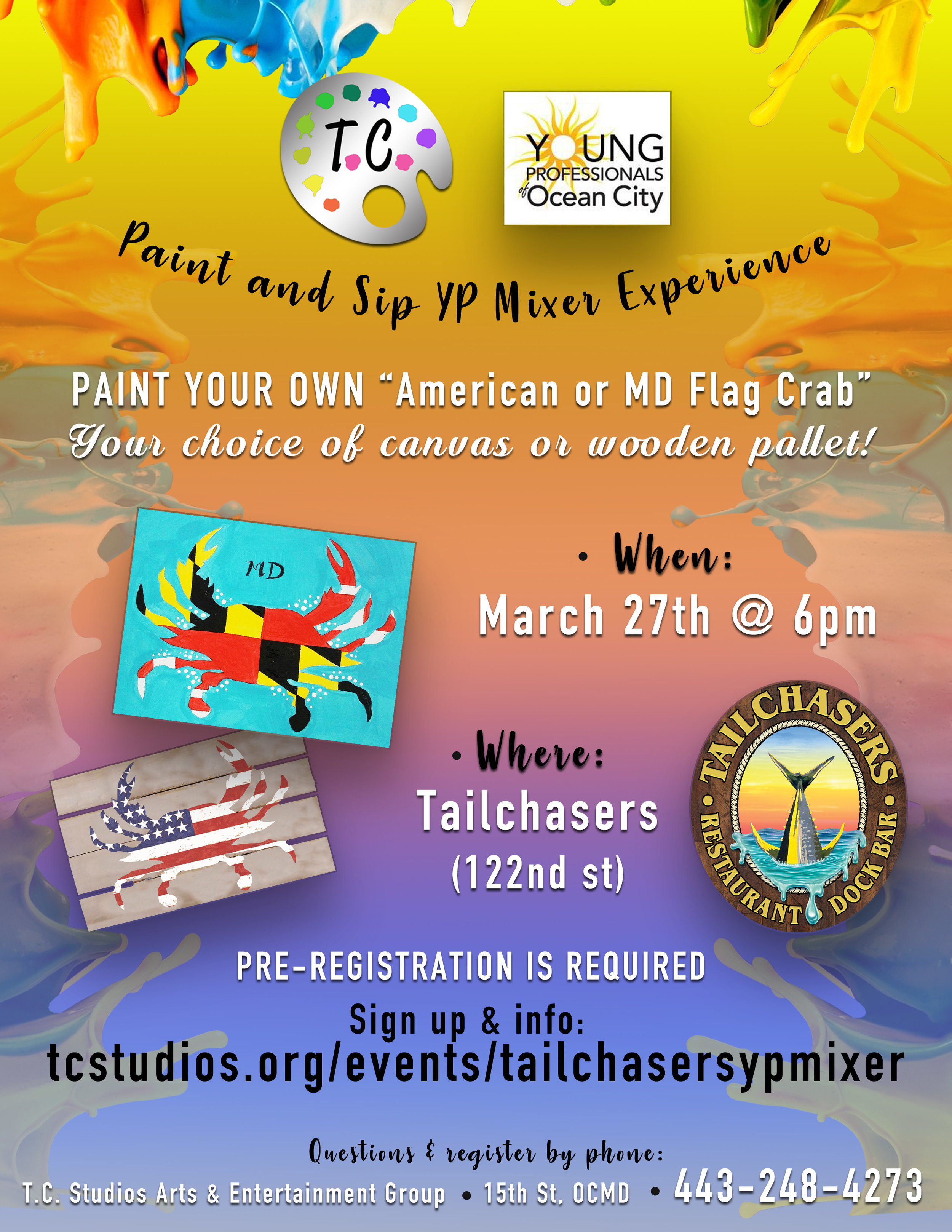 Yp Paint Sip Mixer At Tailchasers T C Studios Arts