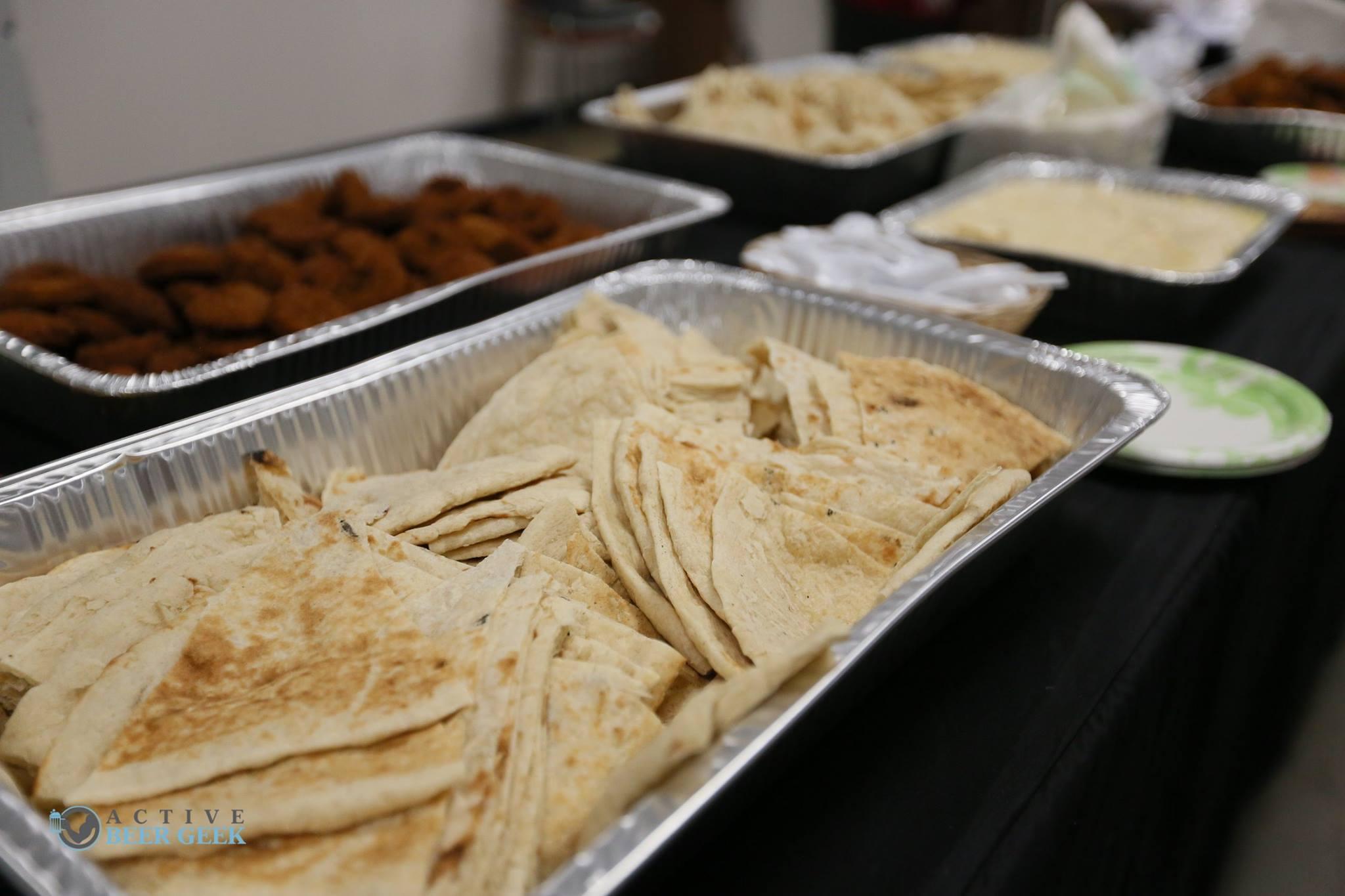 Ameera Bread's delicious food