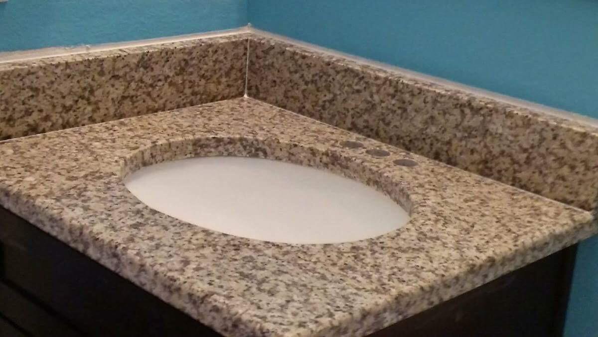 Guest Bath Counter Top