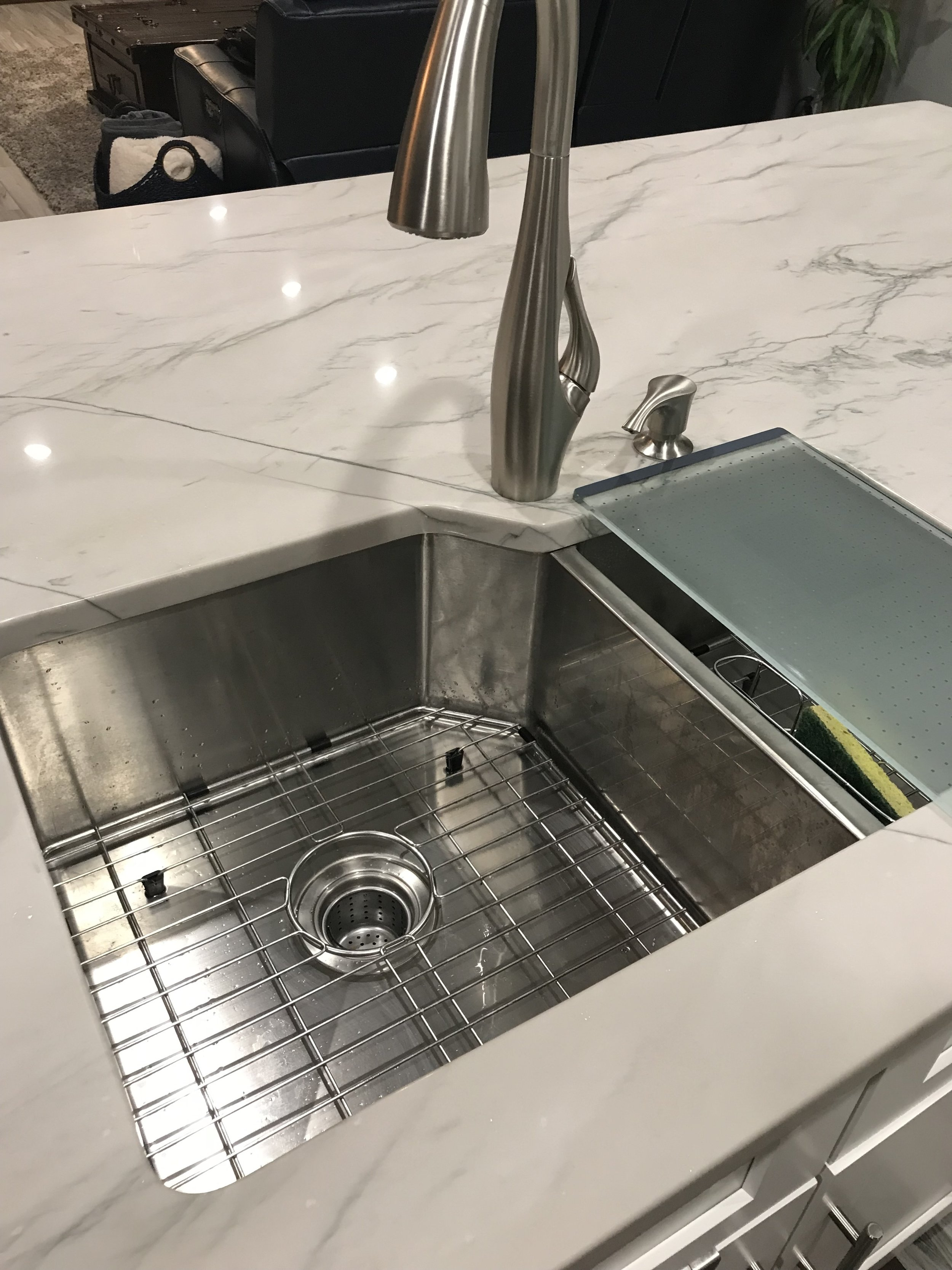 New Kitchen Sink and CounterTop