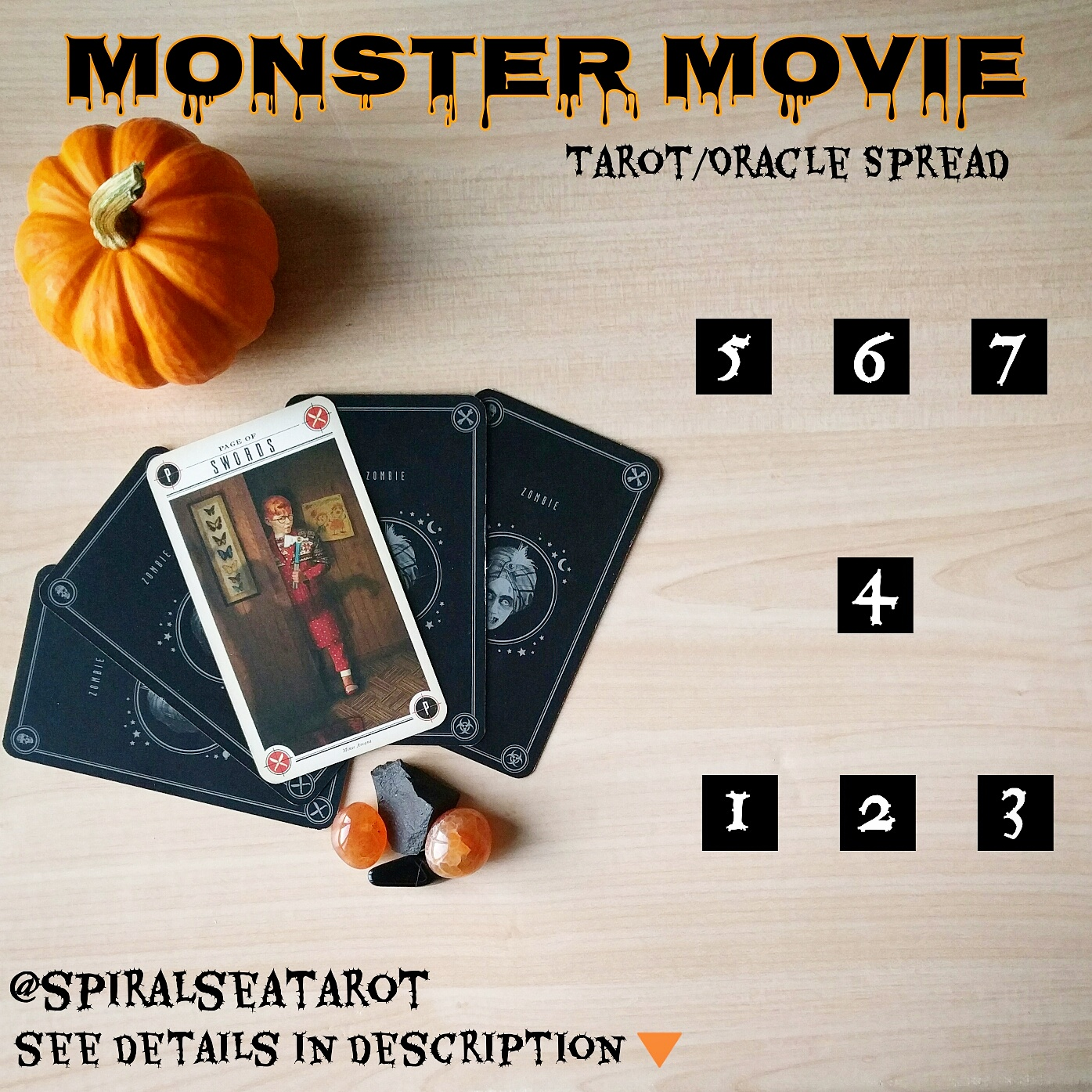 monstermoviehalloweentarotspread
