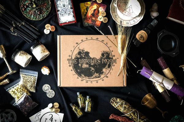 image featured from  The Witches Moon  subscription box