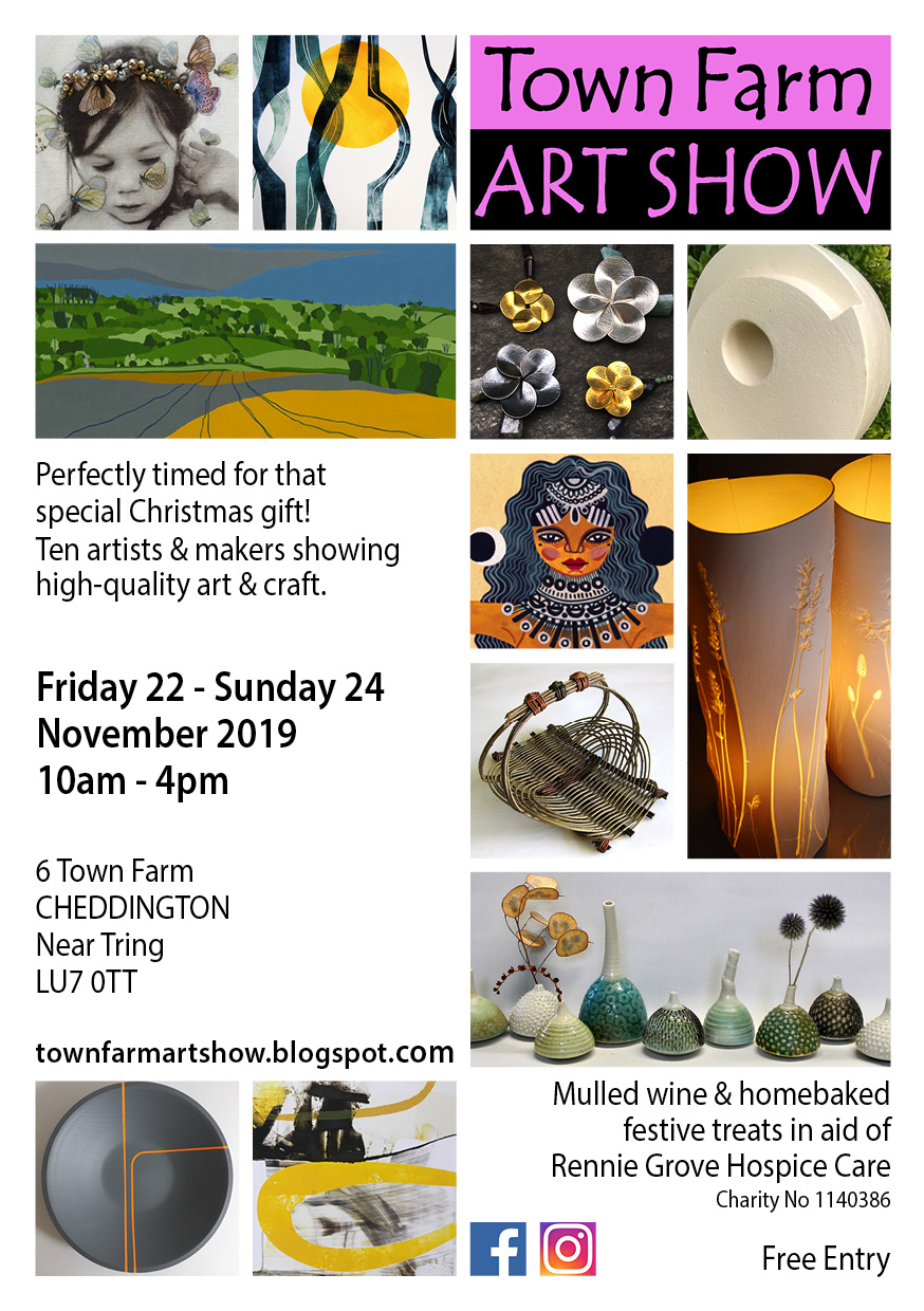 22 - 24 Nov 2019 - Town Farm Art Show, Cheddington