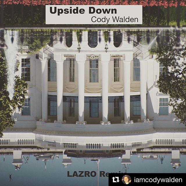 """@iamcodywalden """"Upside Down @lazaro__rodriguez Remix"""" our now. Link in bio ・・・ Link in bio."""