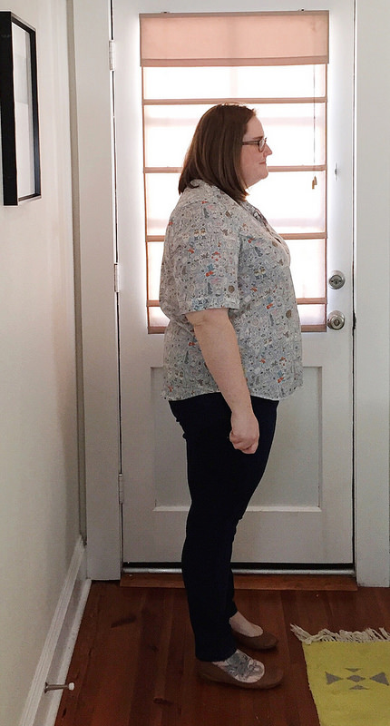 liberty lawn grainline archer